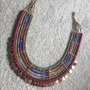 Forever 21 Colorful Layered Necklace